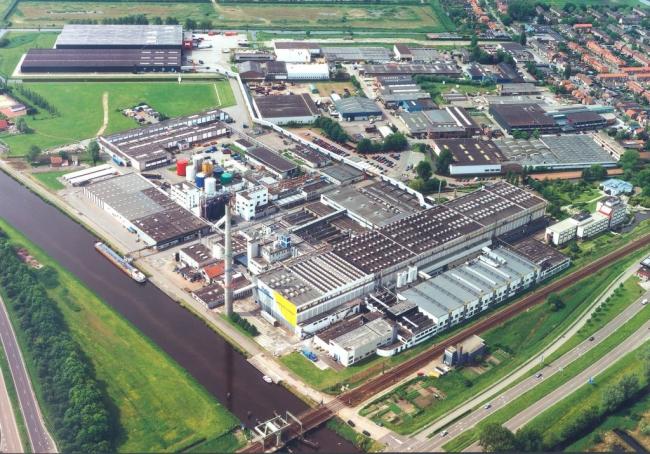 Завод Forbo в Амстердаме. фото предоставлено Forbo.