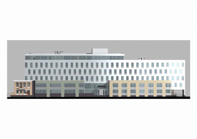 Офисное здание на Тверской улице