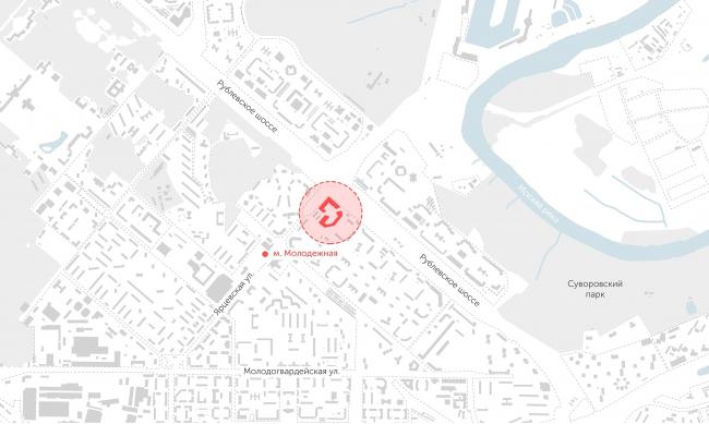 ЖК Vander Park. Ситуационный план © Проектное бюро АПЕКС