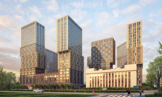 ЖК Vander Park © de Architekten Cie