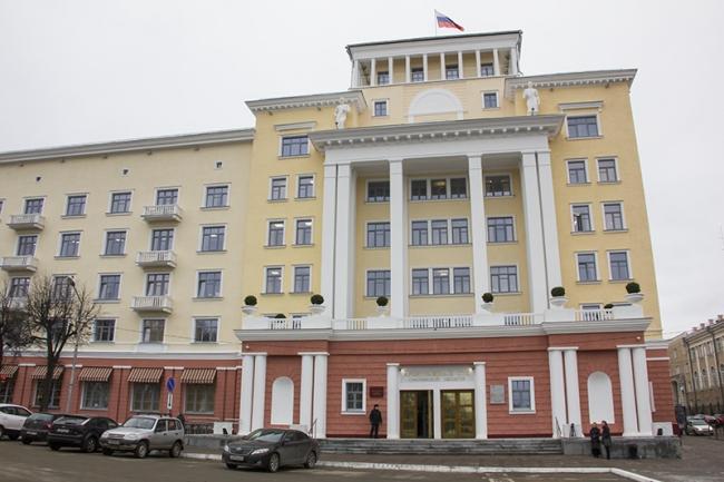 Реставрация здания Арбитражного суда в Смоленске. Подрядчик: компания КРОК