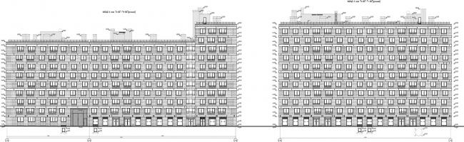 ЖК «Царская столица». 4 очередь. Фасады 8Б © Евгений Герасимов и партнеры