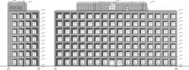 ЖК «Царская столица». 4 очередь. Фасады 8В © Евгений Герасимов и партнеры