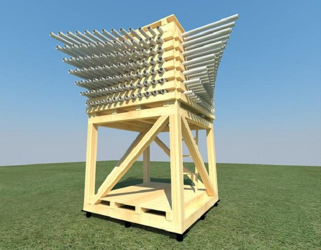 Проект «Голос ветра». 2 место в номинации «Архи-Точка». Ivan Zverkov