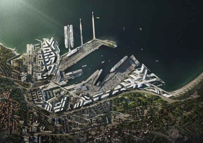 Генплан Старой гавани Таллина @ VA-Render