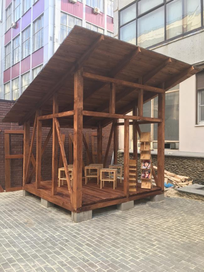 Павильоны для keune. Фотография предоставлена БВШД