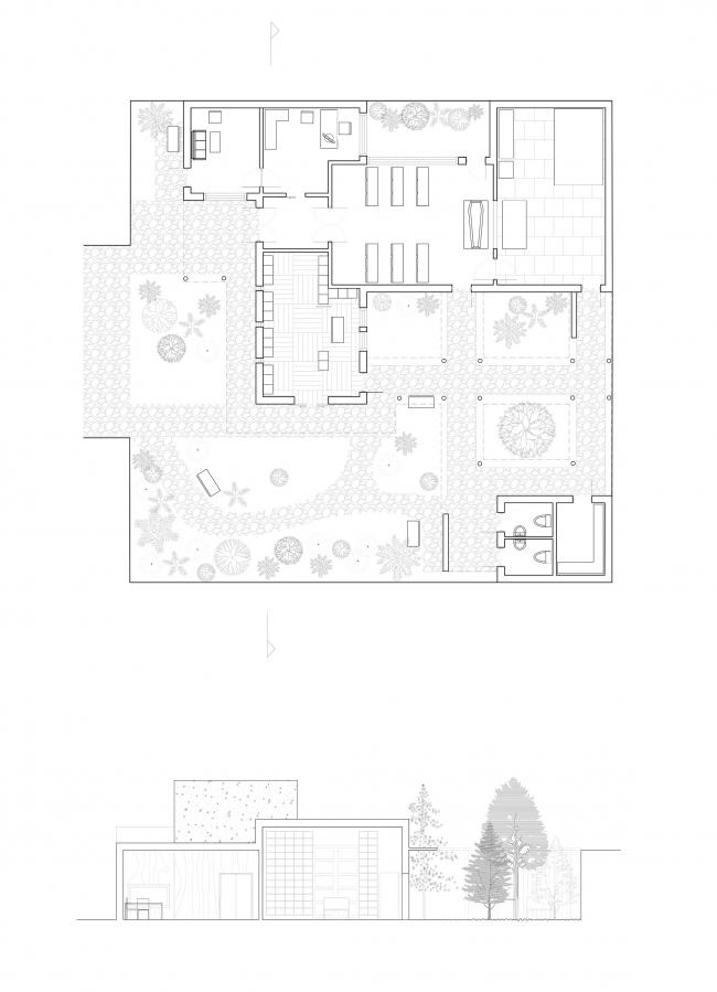 Работа 1 курса бакалавриата Interior Architecture and Design БВШД. Изображение предоставлено БВШД
