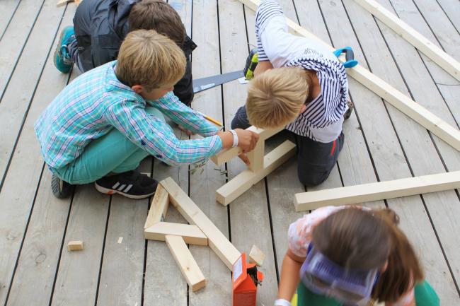 Маленькие строители своего «Детского мира»