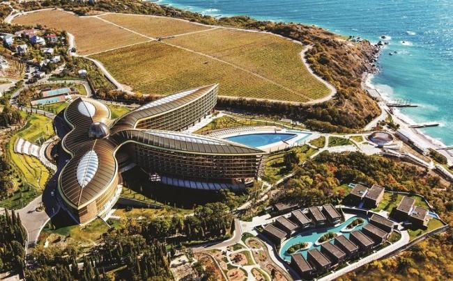 Mriya Resort & Spa, Крым. Заказчик: компания «Гарант-СВ»