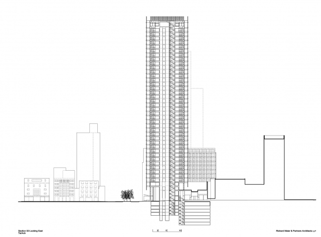 Башня Rothschild Tower © Richard Meier & Partners Architects