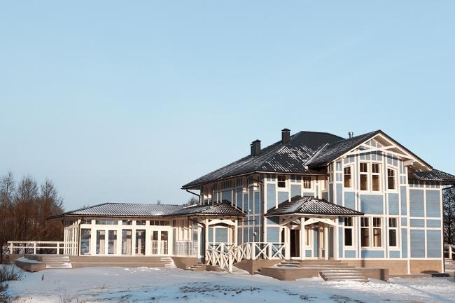 Болотов-дача © архитекторы Александр Гончаров и Иван Митин