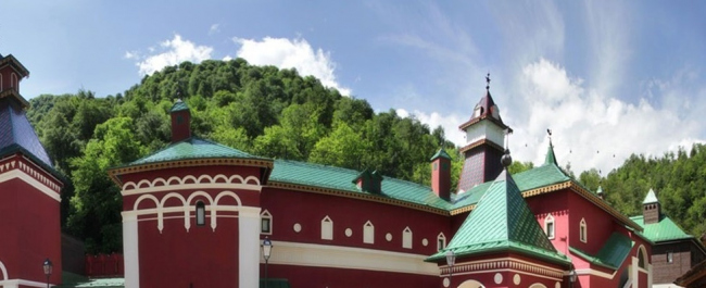 Культурно-этнографический центр «Моя Россия» © Архитектурная мастерская М.Атаянца