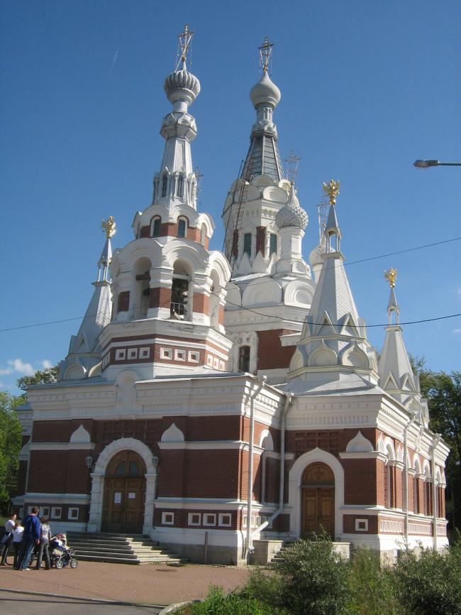 Церковь Николая Чудотворца, Павловск. Фото: Peterburg23 via Wikimedia Commons. Лицензия CC BY 3.0