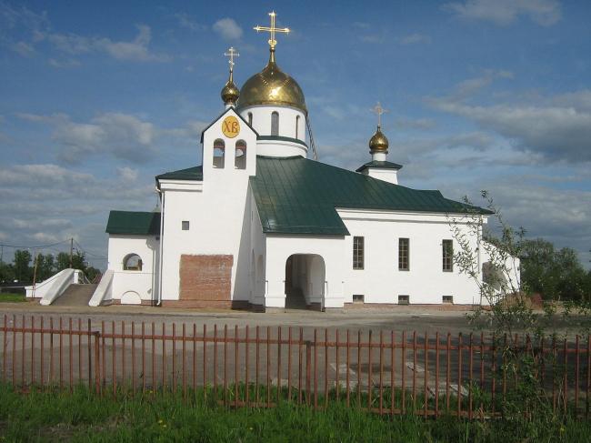 Собор Святой Троицы в Колпино. Фото: Peterburg23  via Wikimedia Commons. Лицензия CC BY 3.0