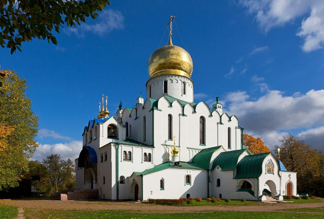 Феодоровский собор в г. Пушкин. Фото: Pavlikhin via Wikimedia Commons. Лицензия CC BY-SA 3.0