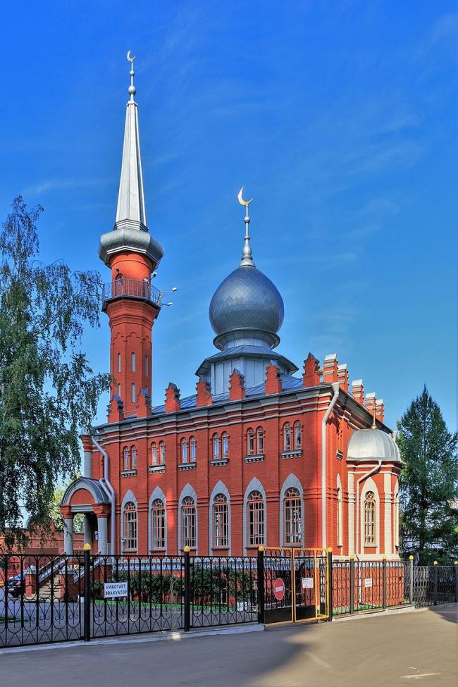 Нижегородская соборная мечеть. Фото: A.Savin via Wikimedia Commons. Лицензия FAL