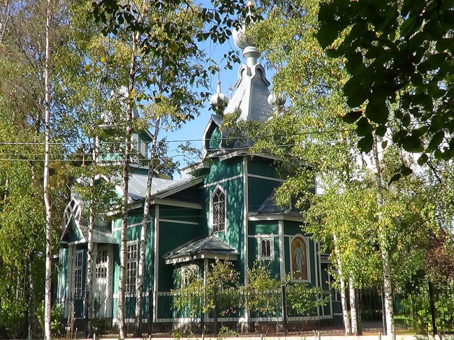 Князь-Владимирская церковь в пос. Лисий Нос. Фото: Peterburg23 via Wikimedia Commons. Лицензия CC BY-SA 3.0