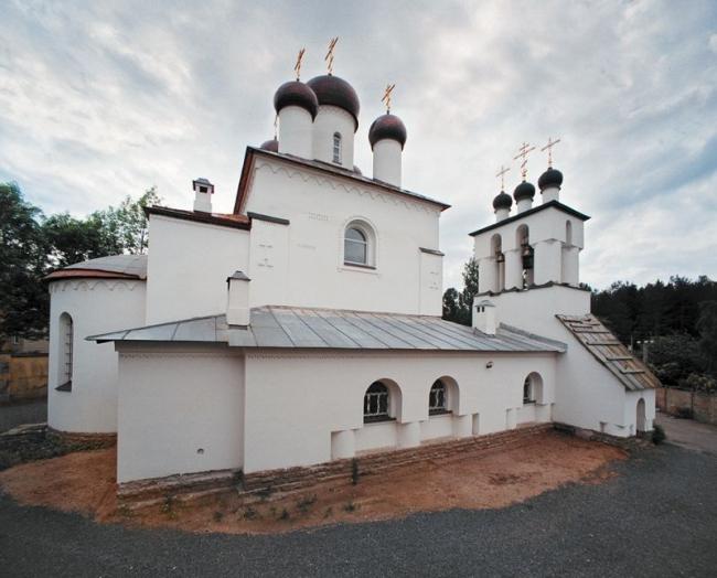 Церковь Спаса Преображения в Тярлево. Фото: Peterburg23 via Wikimedia Commons. Лицензия CC BY 3.0