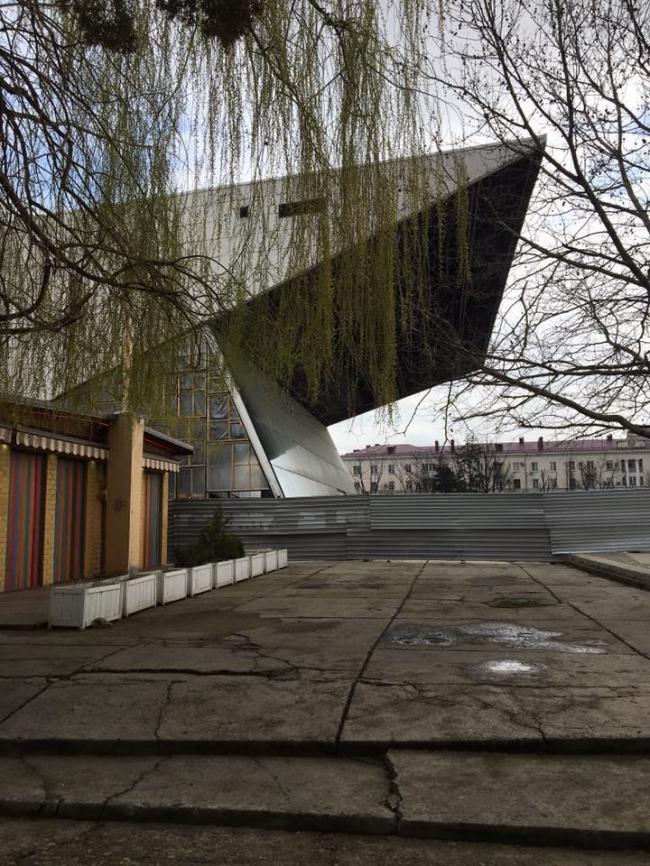 Кинотеатр «Аврора» © архитектор Е.А. Сердюков