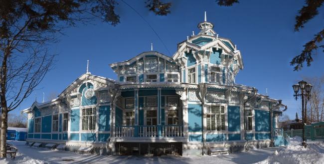 Дом купца Георгия Голованова. Фото: Павел Андрющенко via Wikimedia Commons. Лицензия CC BY-SA 3.0