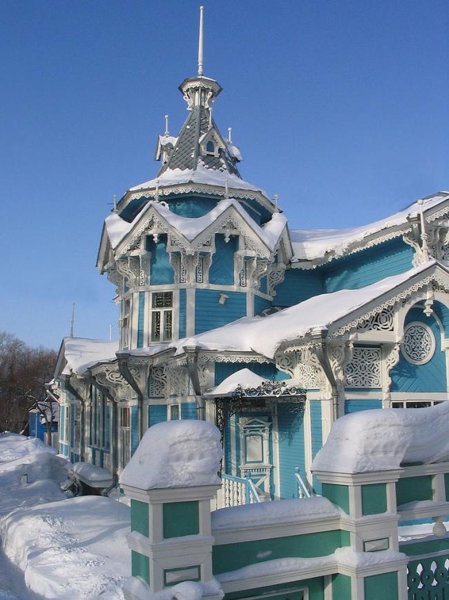Дом купца Георгия Голованова. Фото: Maximaximax via Wikimedia Commons. Лицензия  GNU Free Documentation License