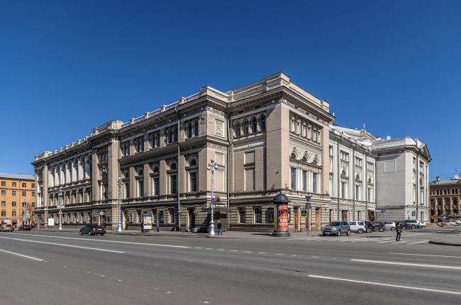 Консерватория, Санкт-Петербург. Фото: Alex ′Florstein′ Fedorov via Wikimedia Commons. Лицензия