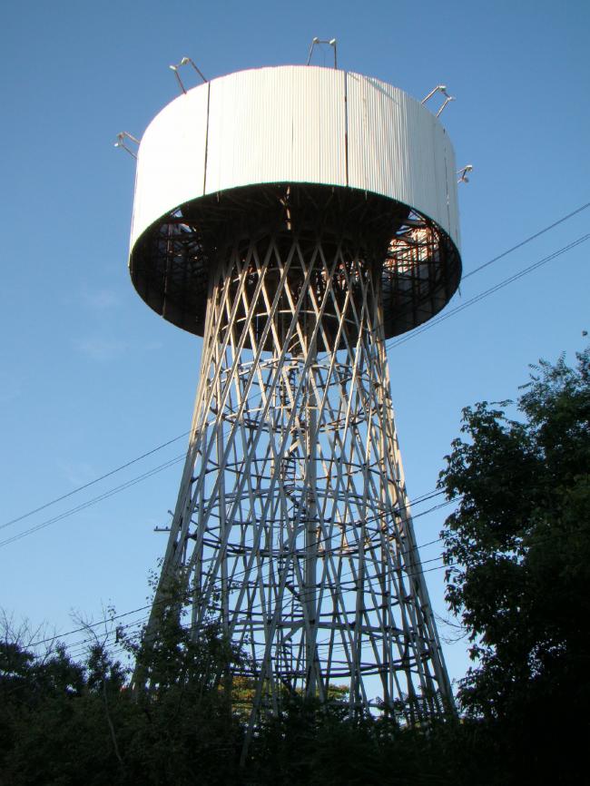 Шуховская башня в Краснодаре. Фото: Yuriy75 via Wikimedia Commons. Фото находится в общем доступе