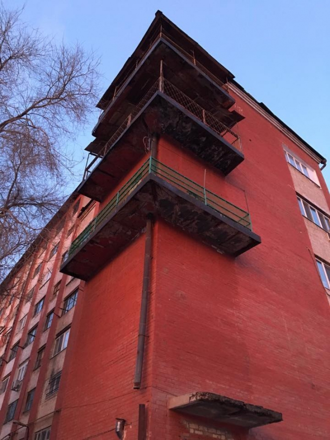 Дом-коммуна на Провиантской © Архитекторы С. Лисагор, Е. Попов
