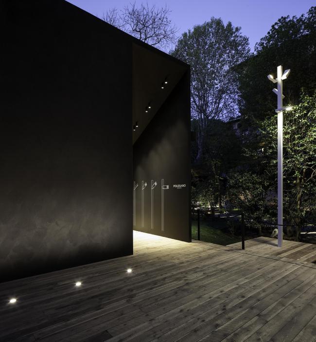 Модульная система уличного освещения Polesano для Delta Light © Luca Cioci