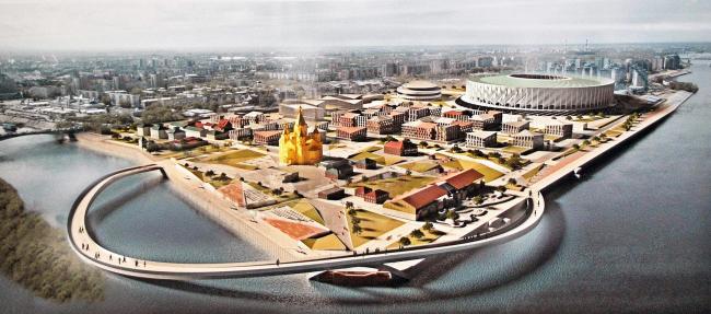 AM-ARCHITECT (Санкт-Петербург). Похоже, хождение по кругу – популярная тема не только для столицы