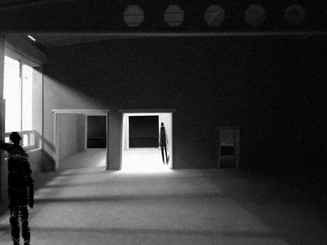 Проект Евгении Хашимовой, 3 курс БВШД. Новая Хохловка.  Анализ освещения существующего положения. Изображение предоставлено БВШД