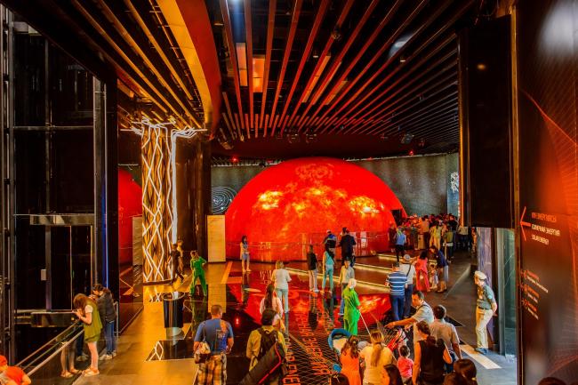 Модель солнца. Фото © «Астана ЭКСПО-2017»