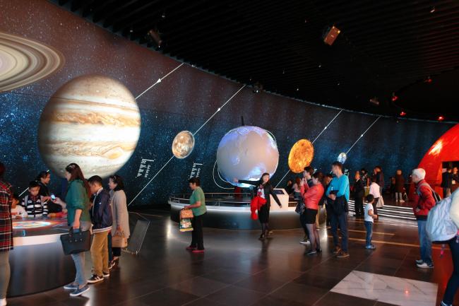 Солнечная система. Фото © «Астана ЭКСПО-2017»