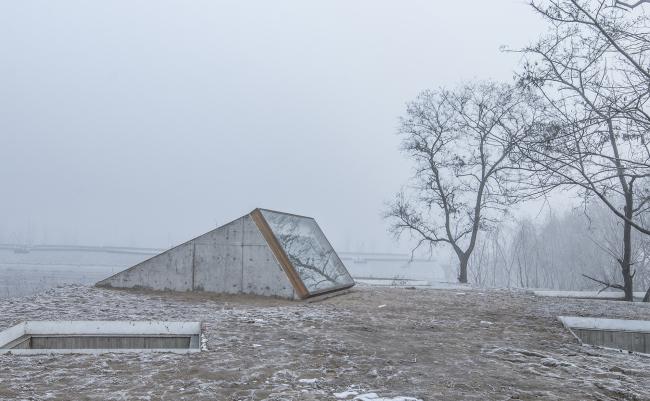 Прибрежный буддийский храм. Крыша (зима). Фотографы: Wang Ning, Jin Weiqi © Archstudio