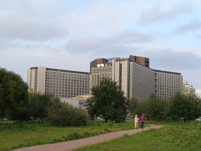 Гостиница «Прибалтийская». Фото: Алексей Решетников via Wikimedia Commons. Лицензия  CC-BY-3.0