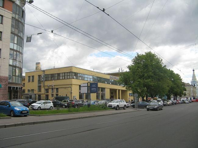 Фабрика-кухня Выборгского района. Фото: Екатерина Борисова via Wikimedia Commons. Лицензия CC BY-SA 3.0