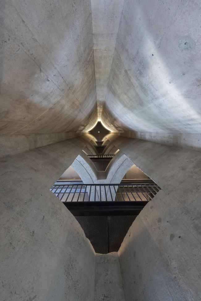 Музей современного африканского искусства Цайца © Iwan Baan