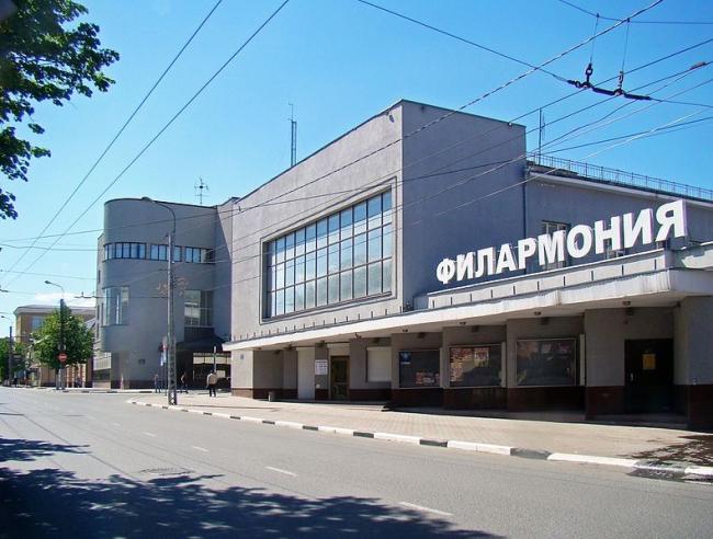 Филармония в Иваново. Фото: Алексей Белобородов via Wikimedia Commons. Лицензия CC BY-SA 4.0