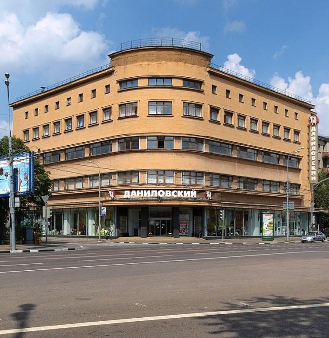 Даниловский универмаг. Фото: NVO via Wikimedia Commons. Лицензия CC BY-SA 3.0