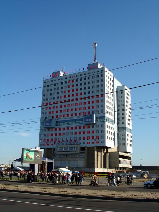 Дом Советов в Калининграде. Фото: kyselak via Wikimedia Commons. Лицензия GNU Free Documentation License версии 1.2