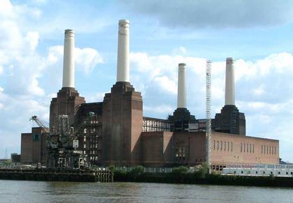 Электростанция Бэттерси. Современный вид