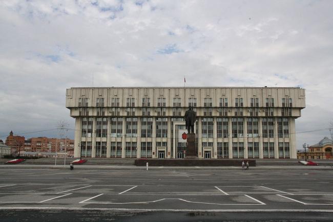 Дом Советов в Туле. Фото: Retradazia via Wikimedia Commons. Лицензия CC BY-SA 4.0