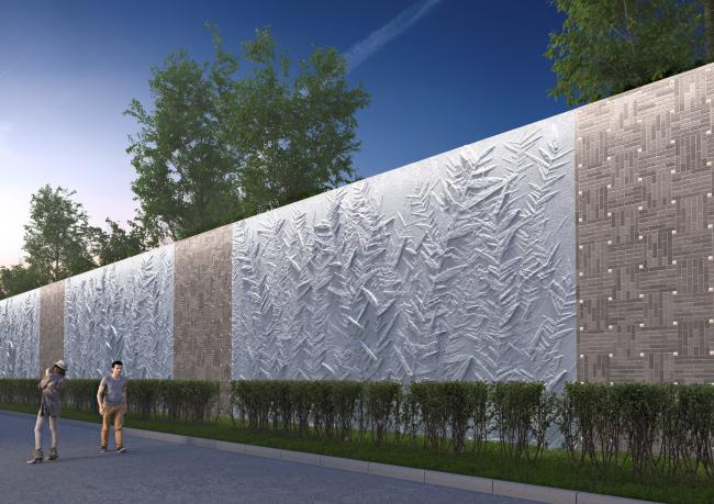 Многофункциональный комплекс с апартаментами и спортивной волейбольной ареной. Визуализация © Архитектурная мастерская «Группа АБВ»