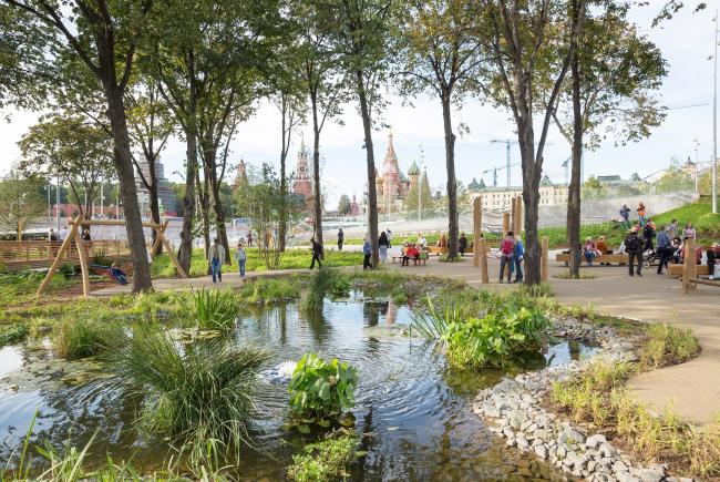 Детская площадка в Зарядье. Фотография © Ульяна Гришина / АРБЕРО