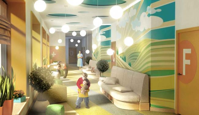 Детский хоспис «Дом с маяком» © IND Architects. Предоставлено пресс-службой «Москомархитектуры»