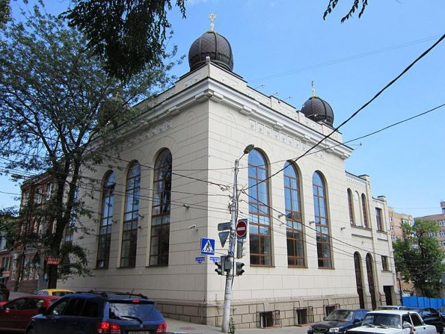 Солдатская синагога. Фото: Sofiya357 via Wikimedia Commons. Лицензия CC BY-SA 3.0