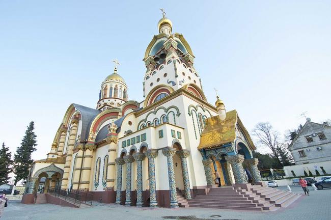 Храм святого равноапостольного великого князя Владимира в Сочи. Фото: Free2free via Wikimedia Commons. Лицензия  CC-BY-SA-3.0