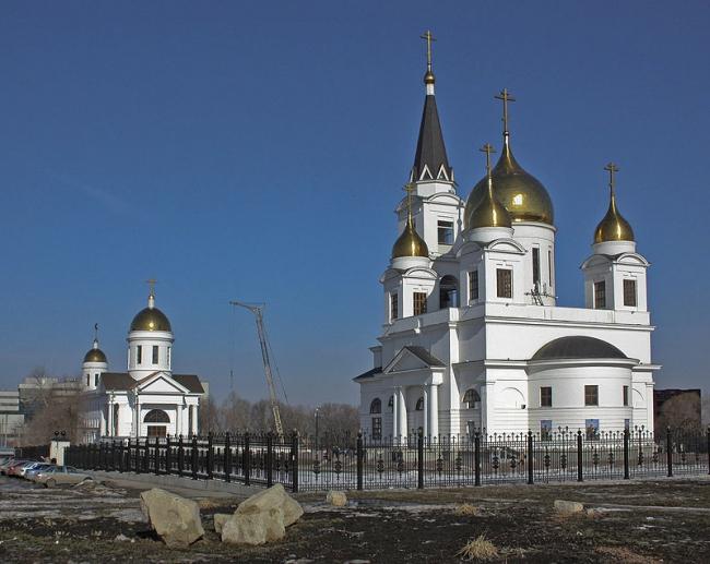 Собор равноапостольных Кирилла и Мефодия. Фото: Виктор Андреев via Wikimedia Commons. Лицензия CC BY 3.0