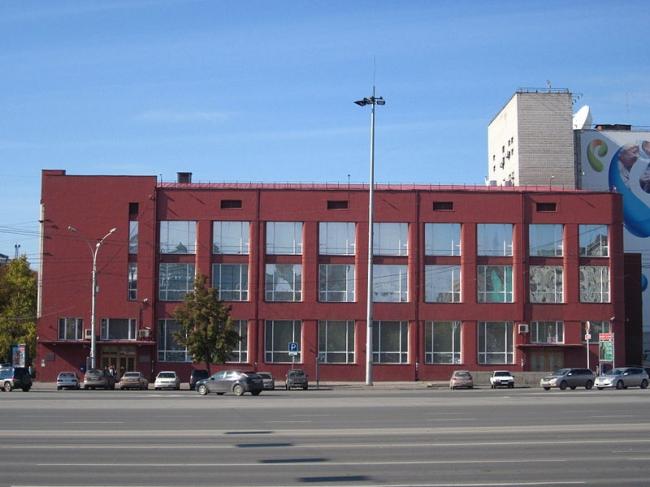 Здание Госбанка в Новосибирске. Фото: Alex Rott via Wikimedia Commons. Лицензия CC BY-SA 3.0