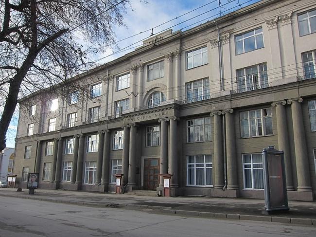 Здание Сибдальгосторга. Фото: Obakeneko via Wikimedia Commons. Лицензия CC BY 3.0